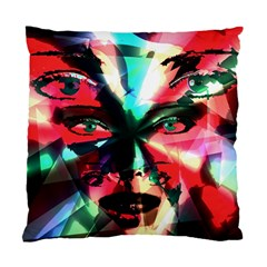 Abstract girl Standard Cushion Case (One Side)