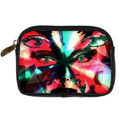 Abstract girl Digital Camera Cases