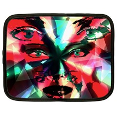 Abstract girl Netbook Case (XXL)