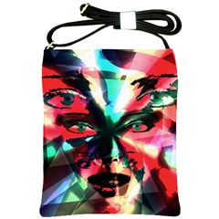 Abstract girl Shoulder Sling Bags