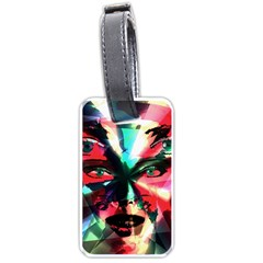 Abstract girl Luggage Tags (Two Sides)