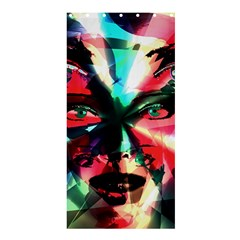 Abstract girl Shower Curtain 36  x 72  (Stall)