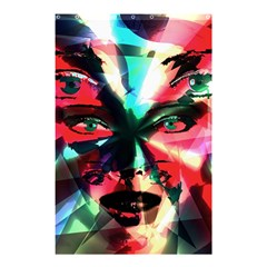 Abstract girl Shower Curtain 48  x 72  (Small)