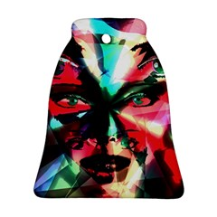 Abstract girl Bell Ornament (Two Sides)