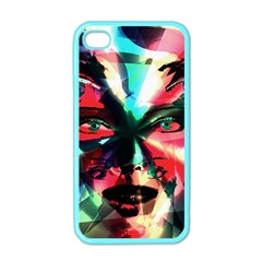 Abstract girl Apple iPhone 4 Case (Color)
