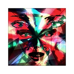 Abstract girl Acrylic Tangram Puzzle (6  x 6 )