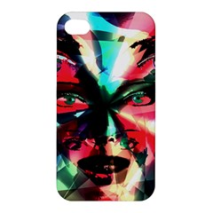 Abstract girl Apple iPhone 4/4S Premium Hardshell Case