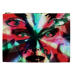 Abstract girl Cosmetic Bag (XXL)