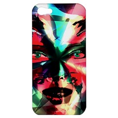 Abstract girl Apple iPhone 5 Hardshell Case