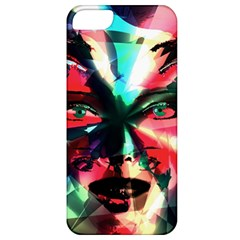 Abstract girl Apple iPhone 5 Classic Hardshell Case
