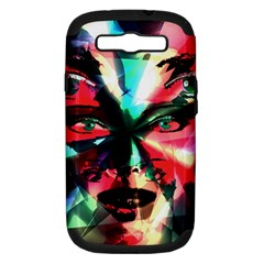 Abstract girl Samsung Galaxy S III Hardshell Case (PC+Silicone)