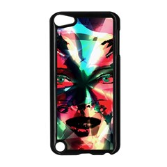 Abstract girl Apple iPod Touch 5 Case (Black)