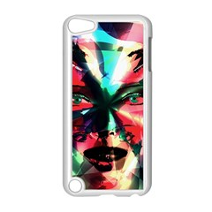 Abstract girl Apple iPod Touch 5 Case (White)