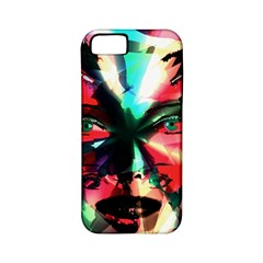 Abstract girl Apple iPhone 5 Classic Hardshell Case (PC+Silicone)