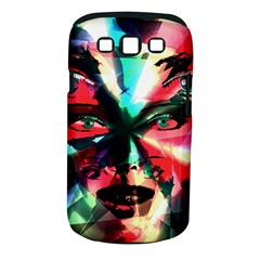 Abstract girl Samsung Galaxy S III Classic Hardshell Case (PC+Silicone)