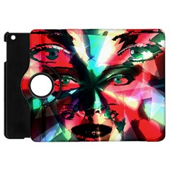 Abstract girl Apple iPad Mini Flip 360 Case