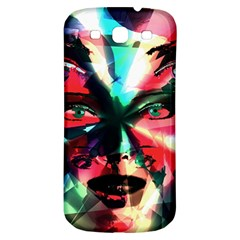 Abstract girl Samsung Galaxy S3 S III Classic Hardshell Back Case
