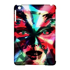 Abstract girl Apple iPad Mini Hardshell Case (Compatible with Smart Cover)