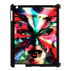 Abstract girl Apple iPad 3/4 Case (Black)