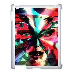 Abstract girl Apple iPad 3/4 Case (White)