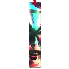 Abstract girl Large Book Marks