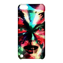 Abstract girl Apple iPod Touch 5 Hardshell Case with Stand