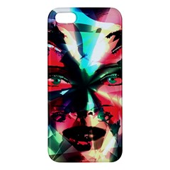 Abstract girl Apple iPhone 5 Premium Hardshell Case