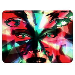 Abstract girl Samsung Galaxy Tab 7  P1000 Flip Case