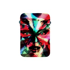 Abstract girl Apple iPad Mini Protective Soft Cases
