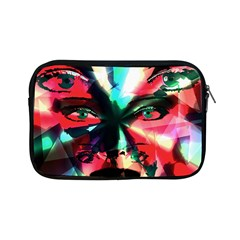 Abstract girl Apple iPad Mini Zipper Cases