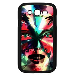 Abstract girl Samsung Galaxy Grand DUOS I9082 Case (Black)