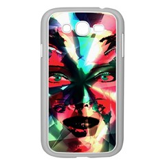 Abstract girl Samsung Galaxy Grand DUOS I9082 Case (White)