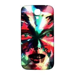 Abstract girl Samsung Galaxy S4 I9500/I9505  Hardshell Back Case