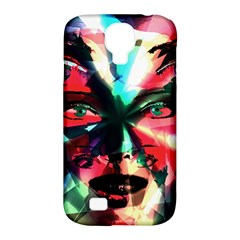 Abstract girl Samsung Galaxy S4 Classic Hardshell Case (PC+Silicone)