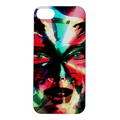 Abstract girl Apple iPhone 5S/ SE Hardshell Case