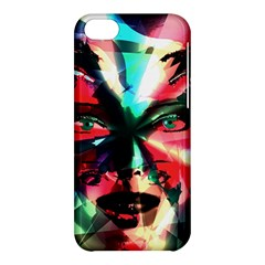 Abstract girl Apple iPhone 5C Hardshell Case