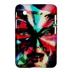 Abstract girl Samsung Galaxy Tab 2 (7 ) P3100 Hardshell Case