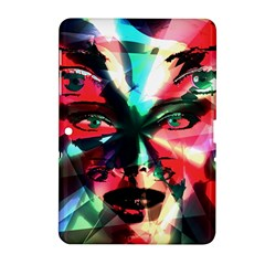 Abstract girl Samsung Galaxy Tab 2 (10.1 ) P5100 Hardshell Case