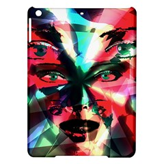 Abstract girl iPad Air Hardshell Cases