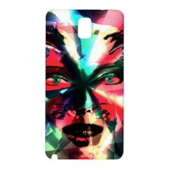 Abstract girl Samsung Galaxy Note 3 N9005 Hardshell Back Case