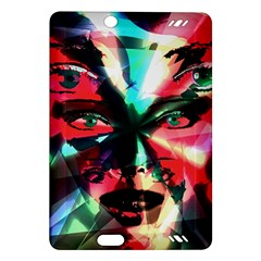 Abstract girl Amazon Kindle Fire HD (2013) Hardshell Case