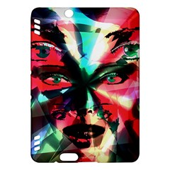 Abstract girl Kindle Fire HDX Hardshell Case