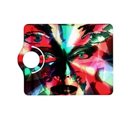 Abstract girl Kindle Fire HD (2013) Flip 360 Case