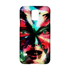 Abstract girl Samsung Galaxy S5 Hardshell Case