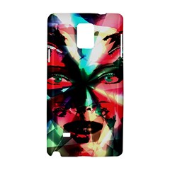 Abstract girl Samsung Galaxy Note 4 Hardshell Case