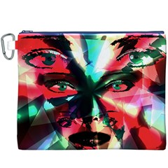 Abstract girl Canvas Cosmetic Bag (XXXL)