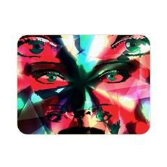 Abstract girl Double Sided Flano Blanket (Mini)
