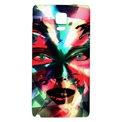 Abstract girl Galaxy Note 4 Back Case