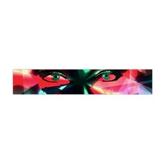 Abstract girl Flano Scarf (Mini)