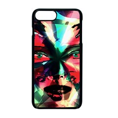 Abstract girl Apple iPhone 7 Plus Seamless Case (Black)
